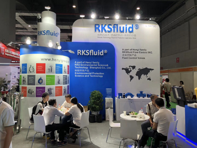 RKSfluid fluid took part in the seventh FLOWTECH CHINA Shanghai international pump valve exhibition organized by the National Convention and Exhibition Center (Shanghai) on 31-6 May 2018, 2.